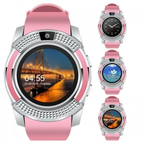 smartwatch v8 waterproof android bluetooth. Black Bedroom Furniture Sets. Home Design Ideas