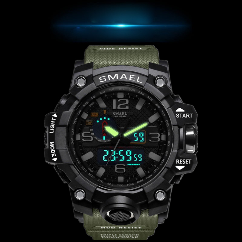Sport Watch Army Style