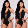 Sexy One-Pice Swimsuit With Strings On The Sides