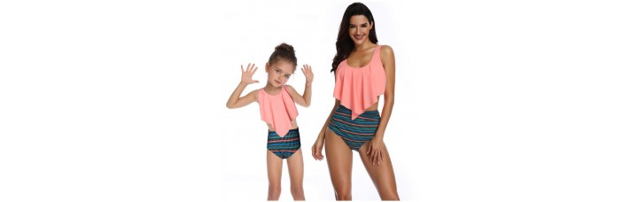 Me And Mini Me High Waist Bikini