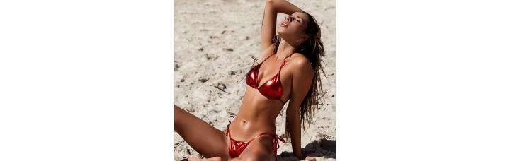 Shiny Bikini Amanda