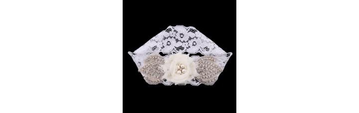 Bridal Romantic Garter Vintage Flower
