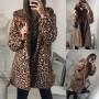 Leopard Teddy Coat Hooded